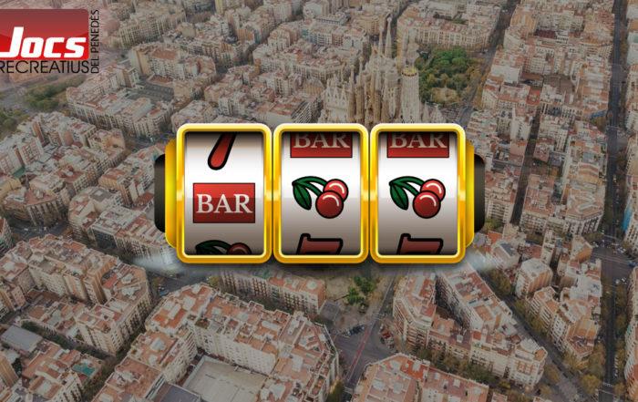 Máquinas recreativas en Barcelona
