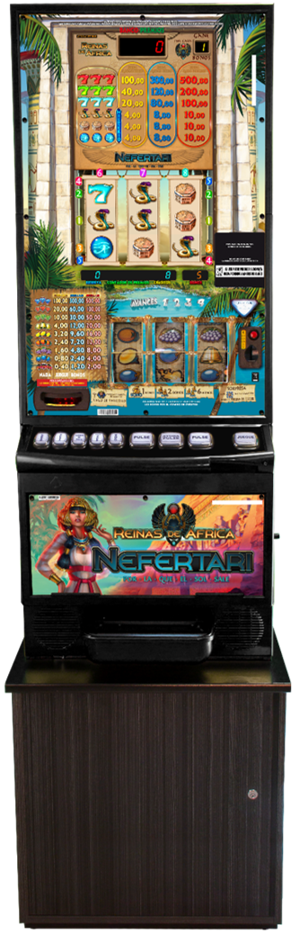maquina recreativa nefertari
